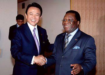 外交タロー:20070521日コートジボワール外相会談