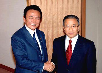 外交タロー:20060209戴秉国 中国外交部副部長表敬