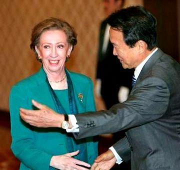 外交タロー:20070522日英外相会談1