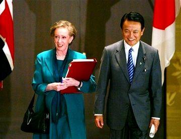 外交タロー:20070522日英外相会談2