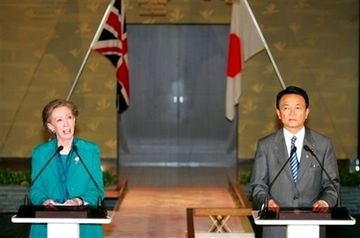 外交タロー:20070522日英外相共同記者会見