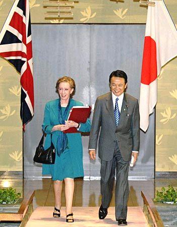 外交タロー:20070522日英外相