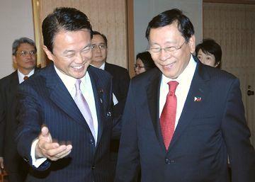 外交タロー:20070524日フィリピン外相会談