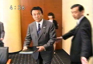 外交タロー:20070528日ミャンマー外相会談「いつでも一緒part2」