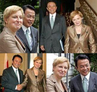外交タロー:20070531日ポーランド外相会談