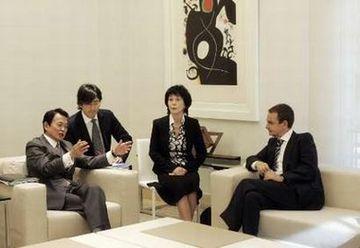 外交タロー:20070601スペインのサバテロ首相表敬