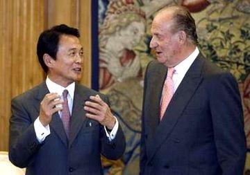 外交タロー:20070601スペイン国王への表敬2