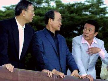 外交タロー:20070603三外相の散策