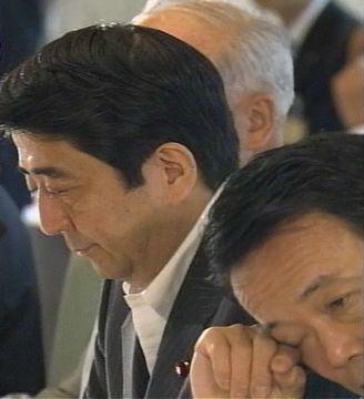 会議だタロー:20070611政府与党連絡会議