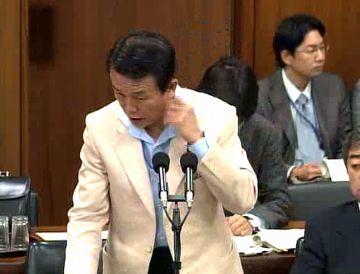 国会タロー:20070606外務委員会にて02