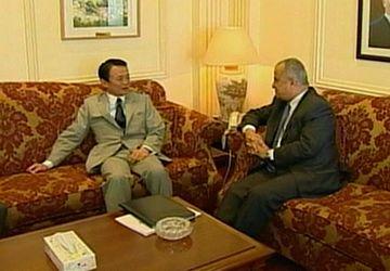 外交タロー:20070813ヨルダンのハティーブ外相との会談