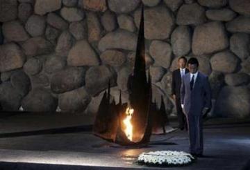 外交タロー:20070814ホロコースト記念館で
