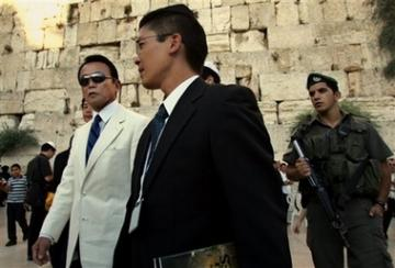 外交タロー:20070814嘆きの壁で