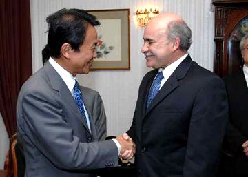 外交タロー:20070817ソホ・メキシコ経済大臣との会談