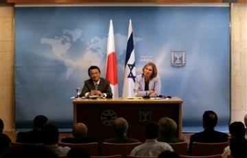 外交タロー:20070814日イスラエル外相共同記者会見で