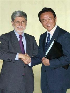 外交タロー:20070821日ブラジル外相会談04