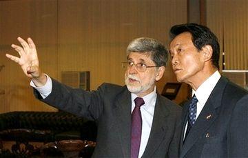 外交タロー:20070821日ブラジル外相会談05