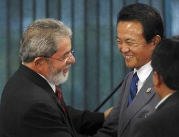 外交タロー:20070822ブラジルのルイス・イナシオ・ルーラ・ダ・シルヴァ大統領と
