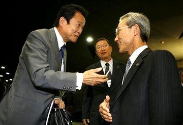 外交タロー:20070822第3回FEALAC外相会合・全体会合06「韓国のキム・ジョンフン通商交渉本部長と」