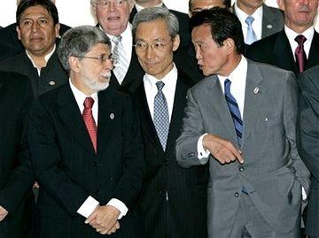 外交タロー:20070822第3回FEALAC外相会合・全体会合09