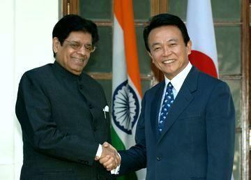 20060104インド訪問・アハメド印外務担当国務大臣表敬1