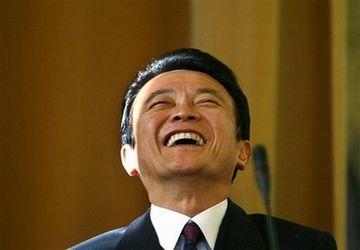 外交タロー:20070110ブカレスト大にて「大爆笑」