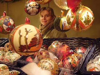 P1020612  ウイーンのクリスマス市 ガラス球