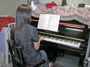 ピアノを披露!!