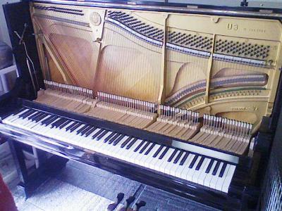ハンマーのないピアノ