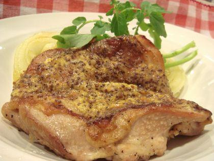 鶏肉のマスタードマヨネーズ焼