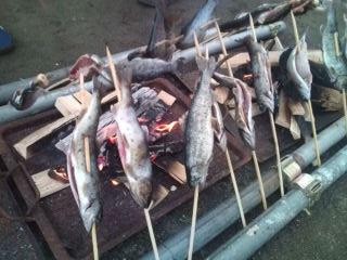 山魚のバーベQ