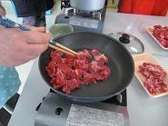 ブログ用肉炒め