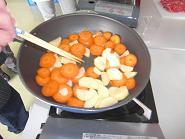 ブログ用野菜炒め