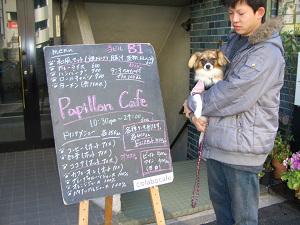 パピヨンカフェ
