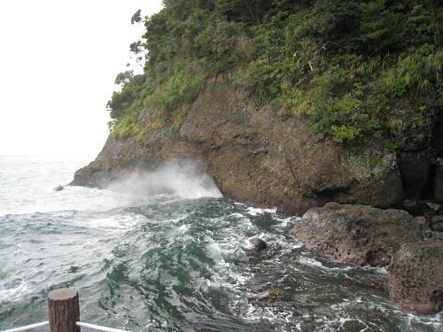 汐吹き岩④