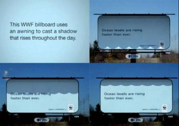 WWF Shadow Billboard