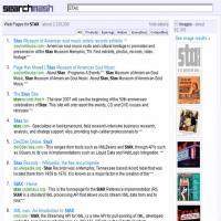 searchmash検索結果画面