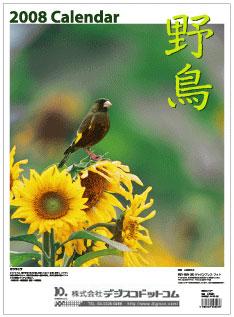 2008年野鳥カレンダー
