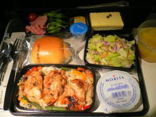 UA 機内食1