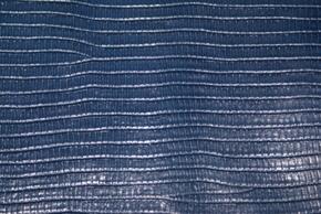 No.46紺色トカゲ柄の革