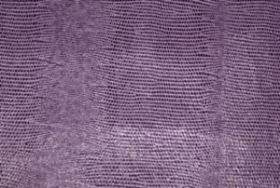 濃紫トカゲ柄の革