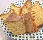 マーマレードシフォンケーキ