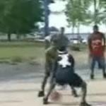 バスケのトリック動画
