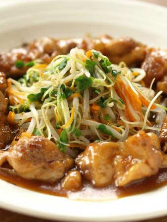 スターアニス風味の甘酢鶏036