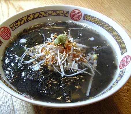 海苔スープ塩ラーメン