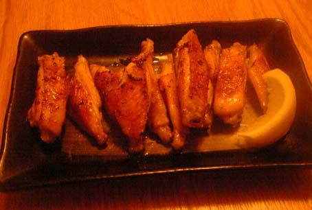 鶏手羽の香草塩焼き