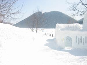 然別湖コタン村