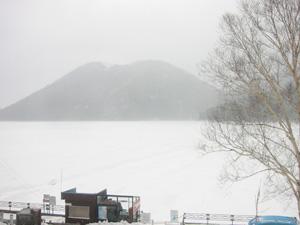 4月27日の然別湖