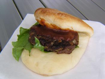 鹿肉ハンバーガー