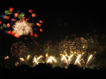 土浦の花火2